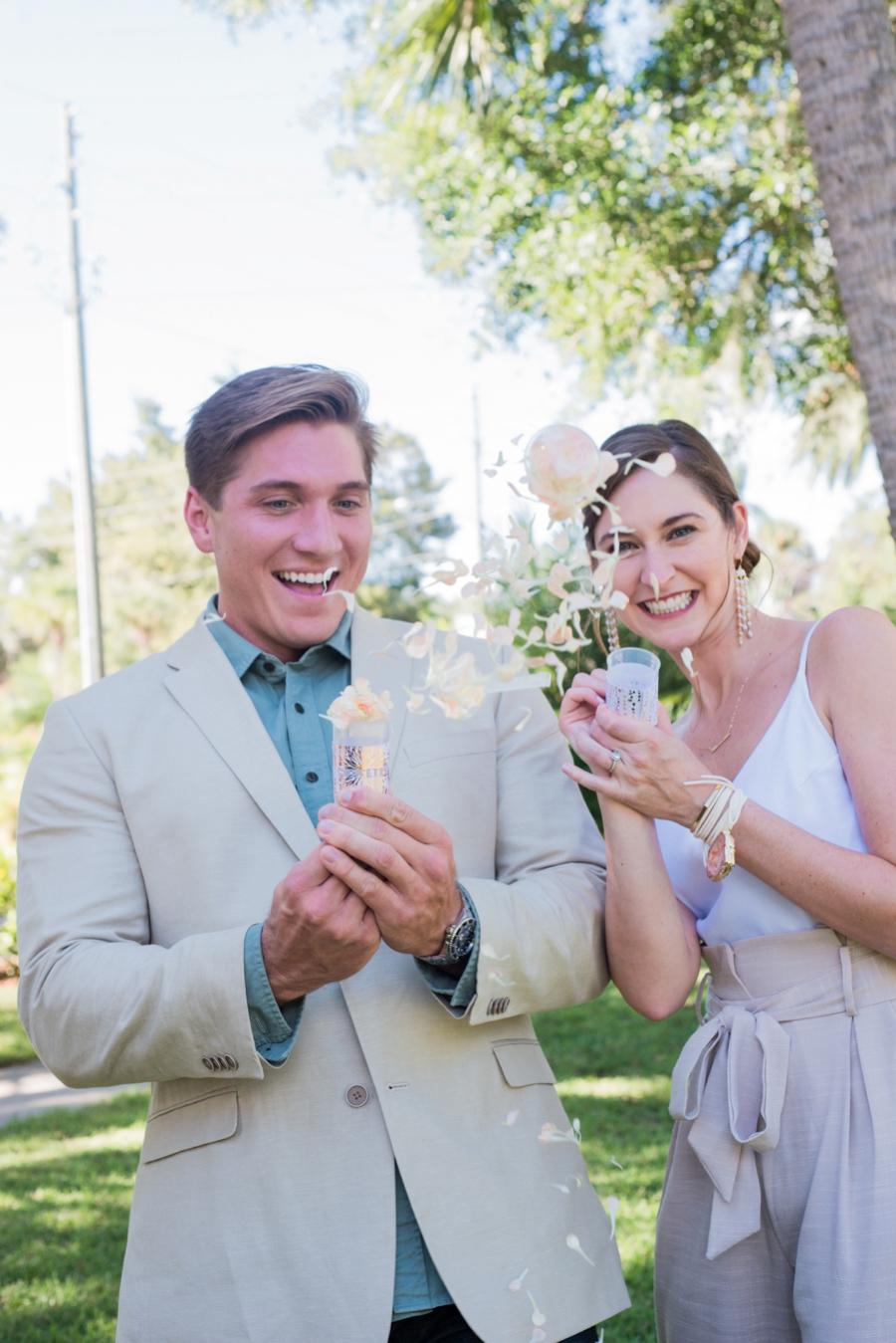 Blush and Copper Bridesmaid Spa Day Inspiration via TheELD.com