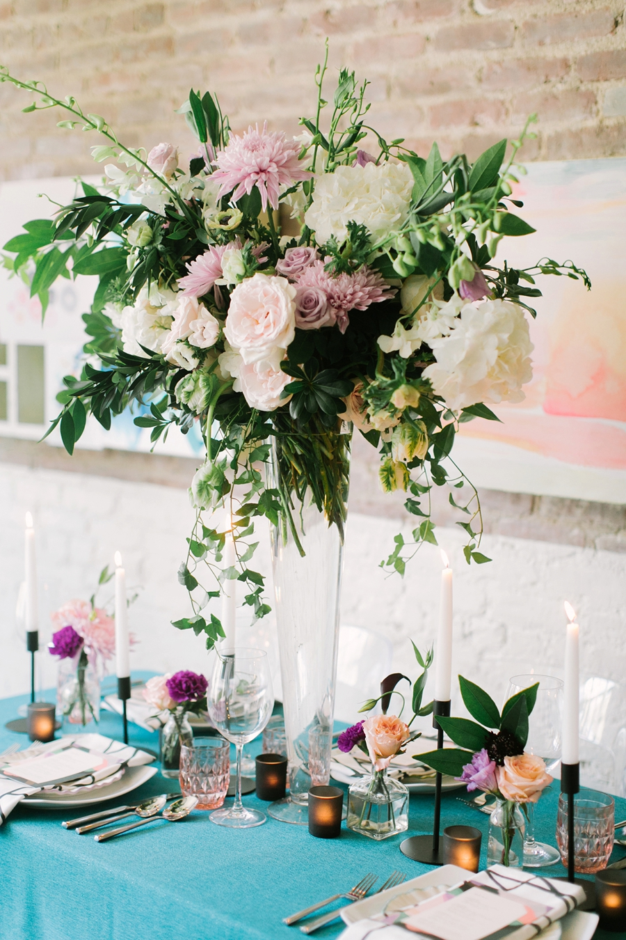 Colorful & Whimsically Modern Wedding Ideas via TheELD.com