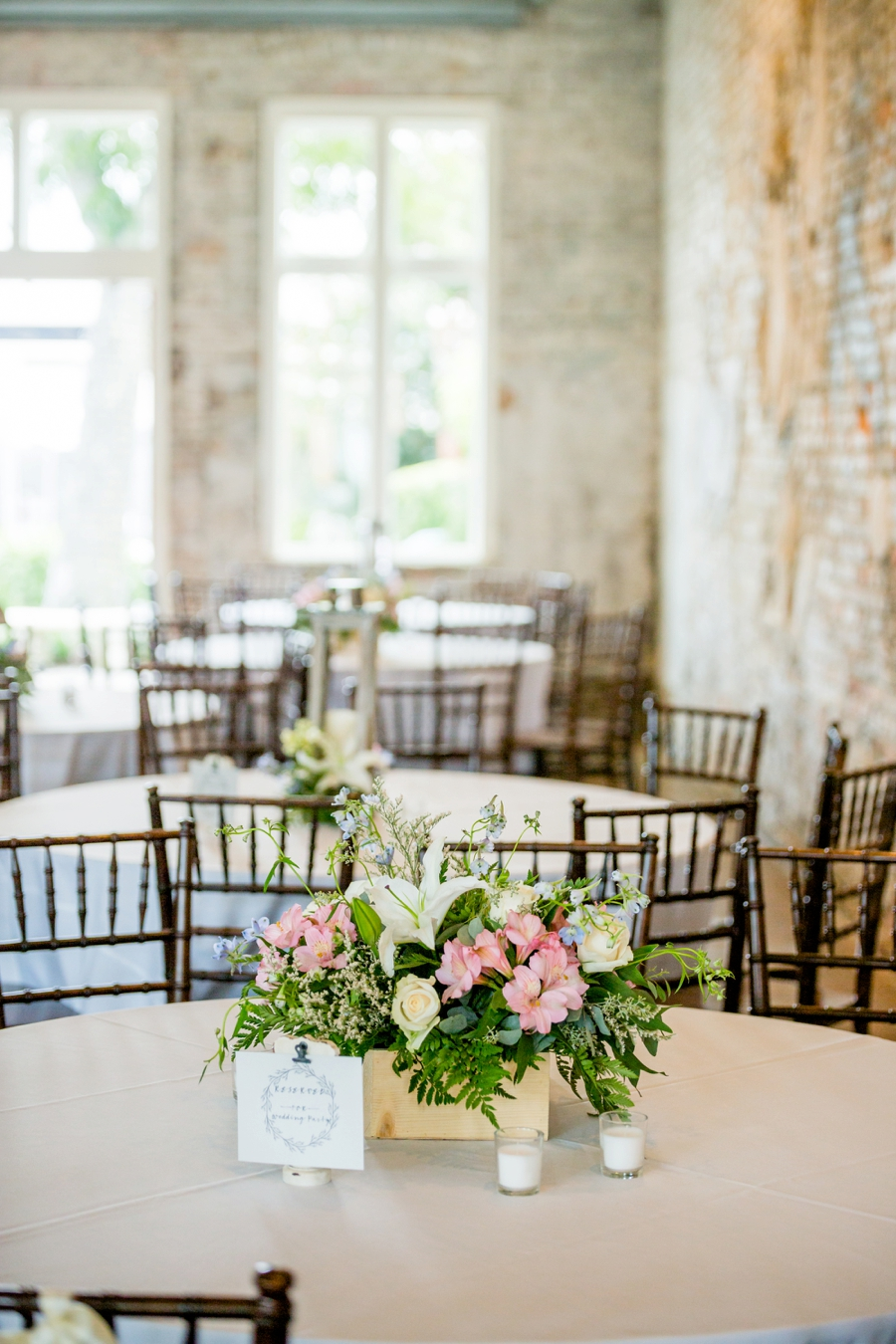 Blush and Blue Classic Florida Wedding via TheELD.com
