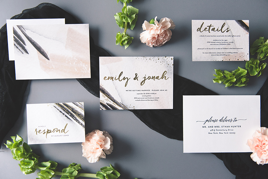 Try Before You Buy Wedding Invitations via TheELD.com