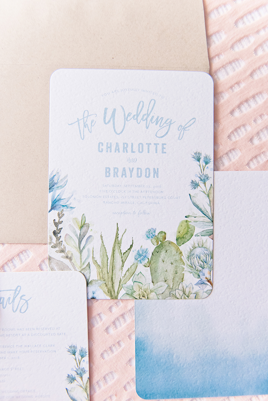 Try Before You Buy Wedding Invitations Every Last Detail