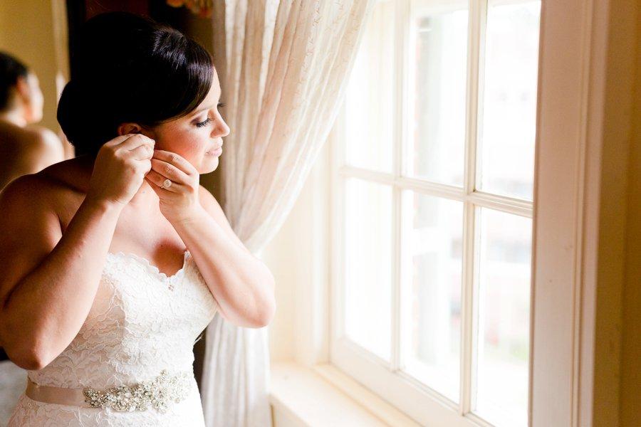 Ivory & Green Industrial Maryland Wedding via TheELD.com