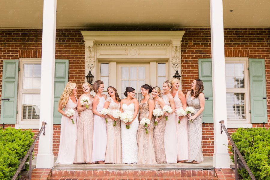 Ivory & Green Industrial Maryland Wedding via TheELD.com