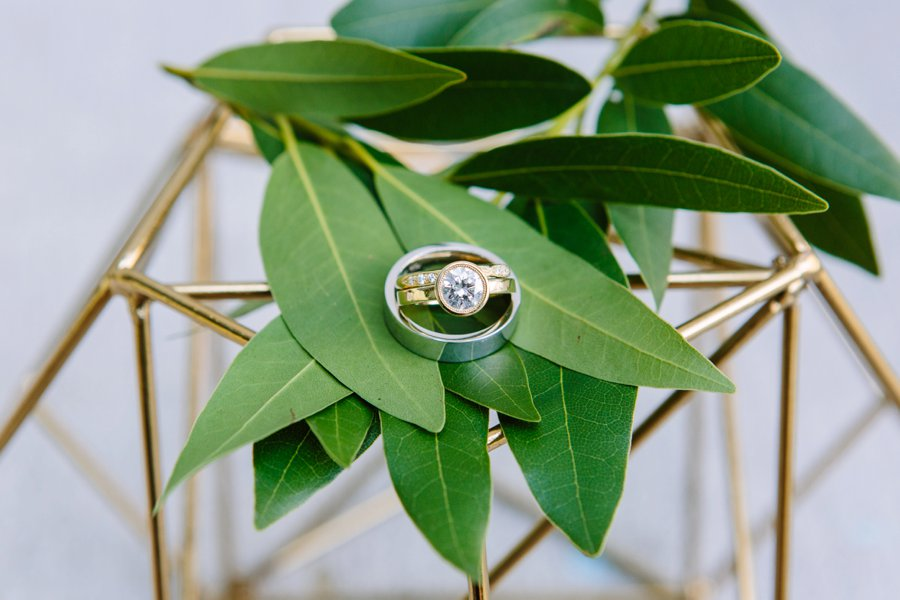 An Intimate Green & White Los Angeles Wedding via TheELD.com