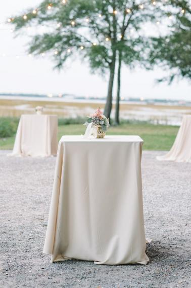 A White and Teal Southern Charleston Wedding via TheELD.com