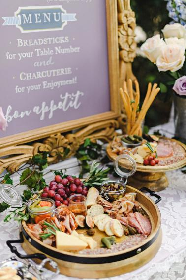 Lavender Amp Blue French Inspired Wedding Ideas Every Last