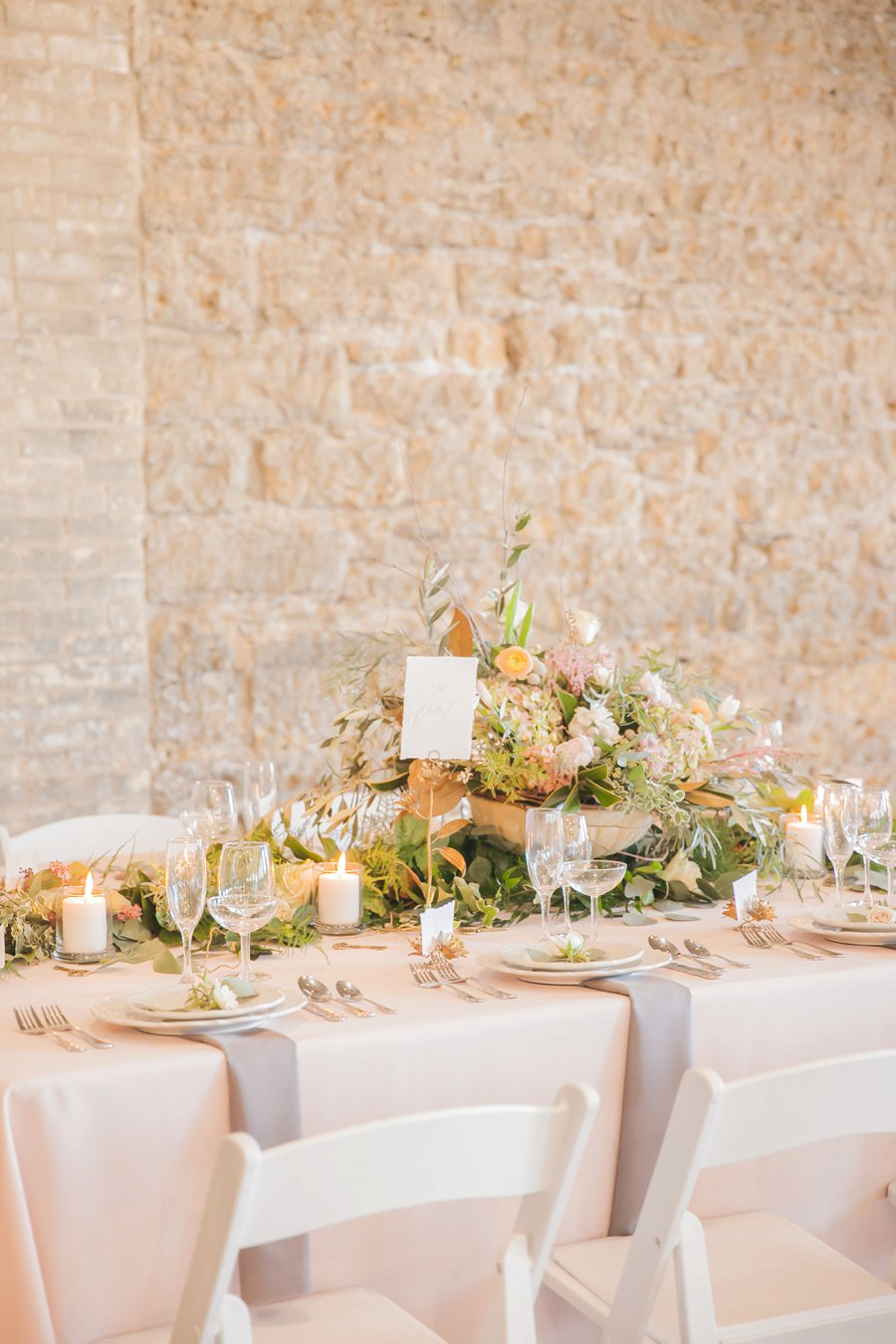 Romantic Organic & Green Illinois Industrial Wedding Ideas via TheELD.com