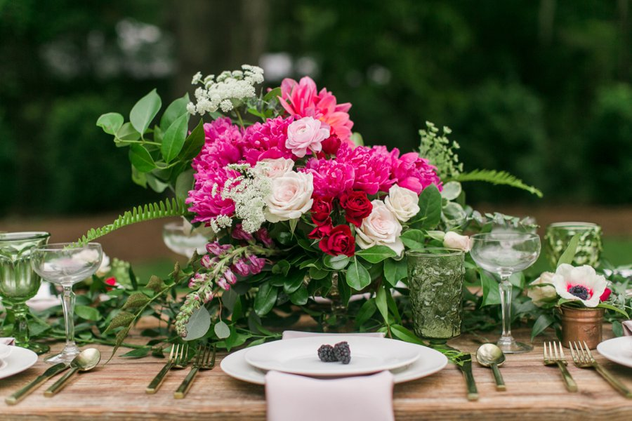 Pink rustic garden inspired wedding ideas every last detail pink rustic garden inspired wedding ideas via theeld workwithnaturefo