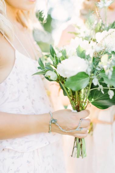 Green and White Organic Wedding Ideas via TheELD.com