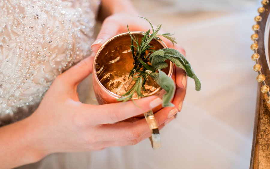 Lavender and Pink Modern Romantic Wedding Ideas via TheELD.com