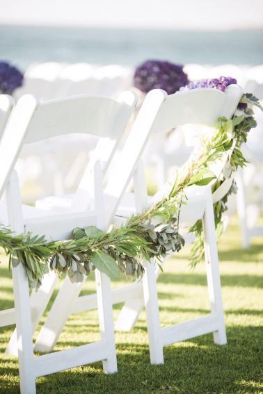 A Romantic Purple & Red Captiva Island Wedding via TheELD.com