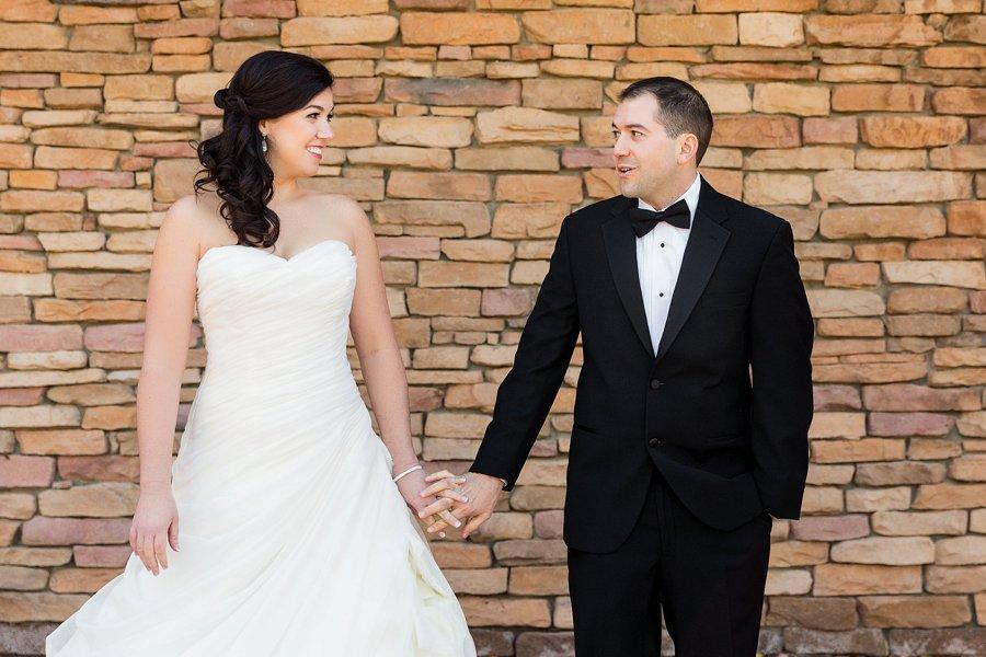 Rustic Elegant Orange & Green Virginia Wedding via TheELD.com