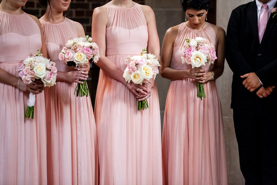 A Blush, White, & Green Tennessee Garden Wedding via TheELD.com