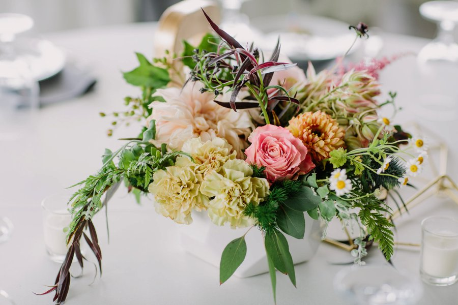 A Colorful Eclectic North Carolina Wedding via TheELD.com