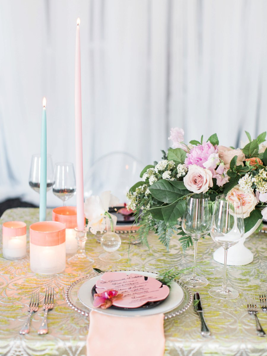A Colorful Tropical Dinner Party via TheELD.com