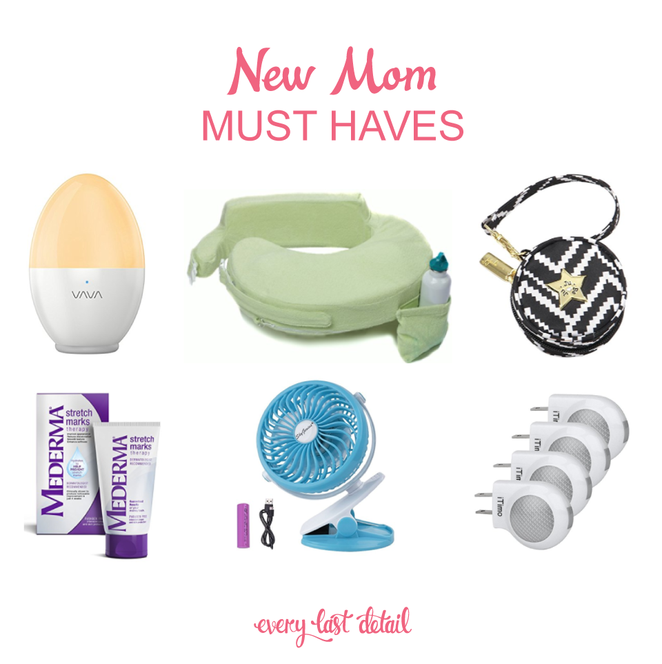 New Mom Must Haves via TheELD.com