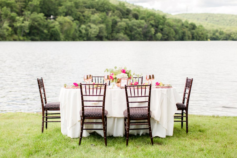 Bright Berry Pink Wedding Ideas via TheELD.com