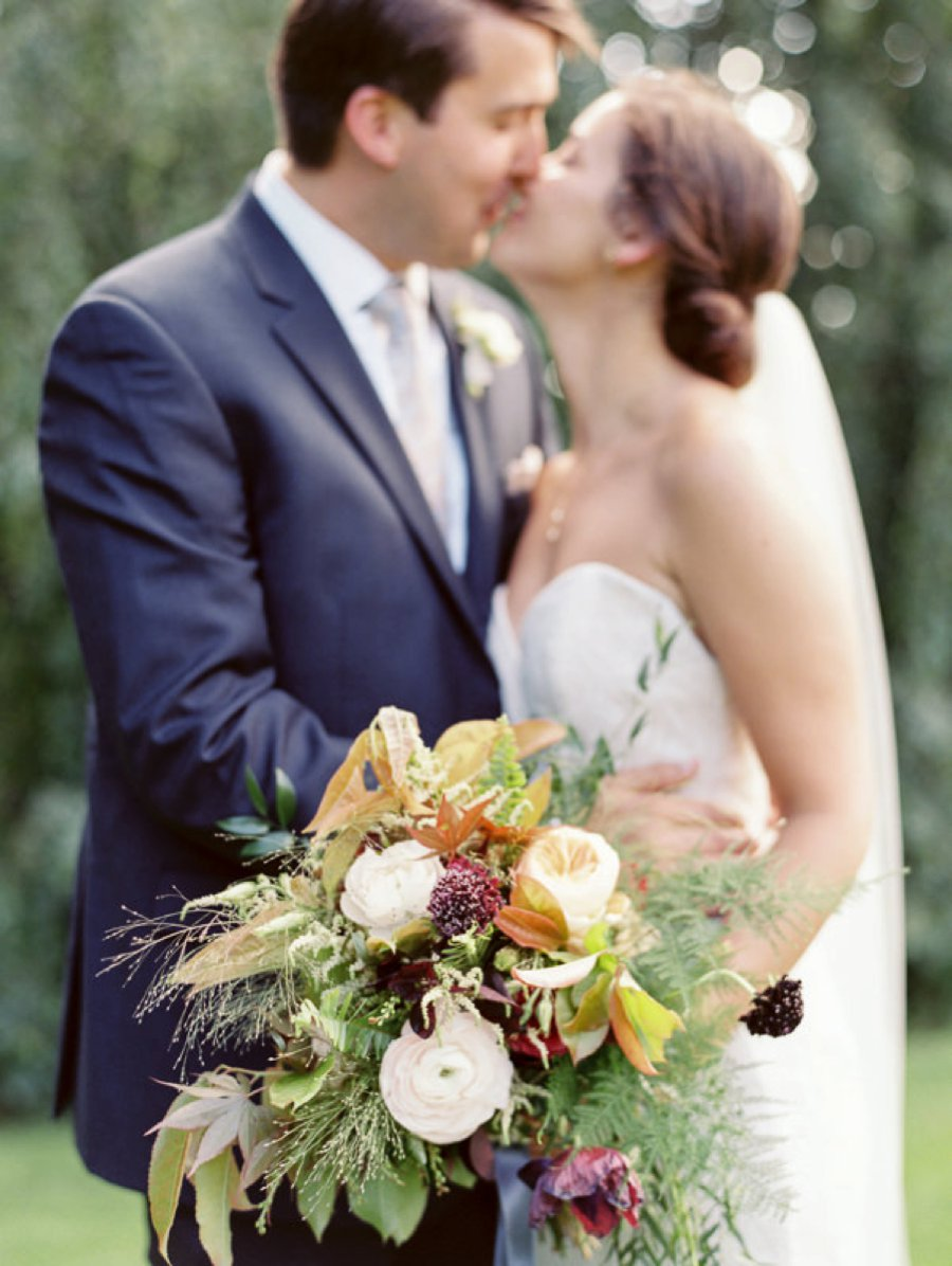 An Elegant Rustic North Carolina Wedding via TheELD.com