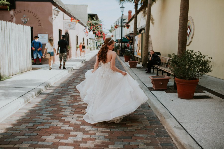 Cream And Blush Black Tie Wedding: An Elegant Blush & White Black Tie Wedding In Florida