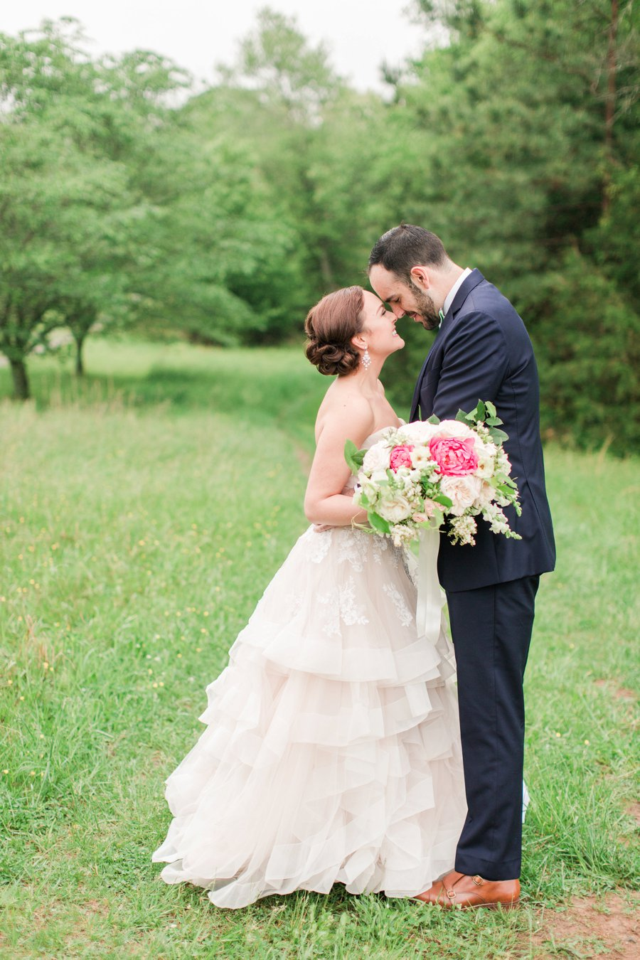 Pink & White Romantic Wedding Ideas via TheELD.com