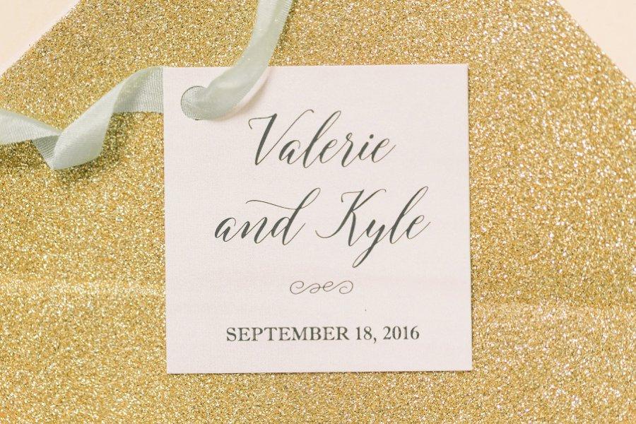 Romantic Blush & Gold Floral Watercolor Invitations via TheELD.com