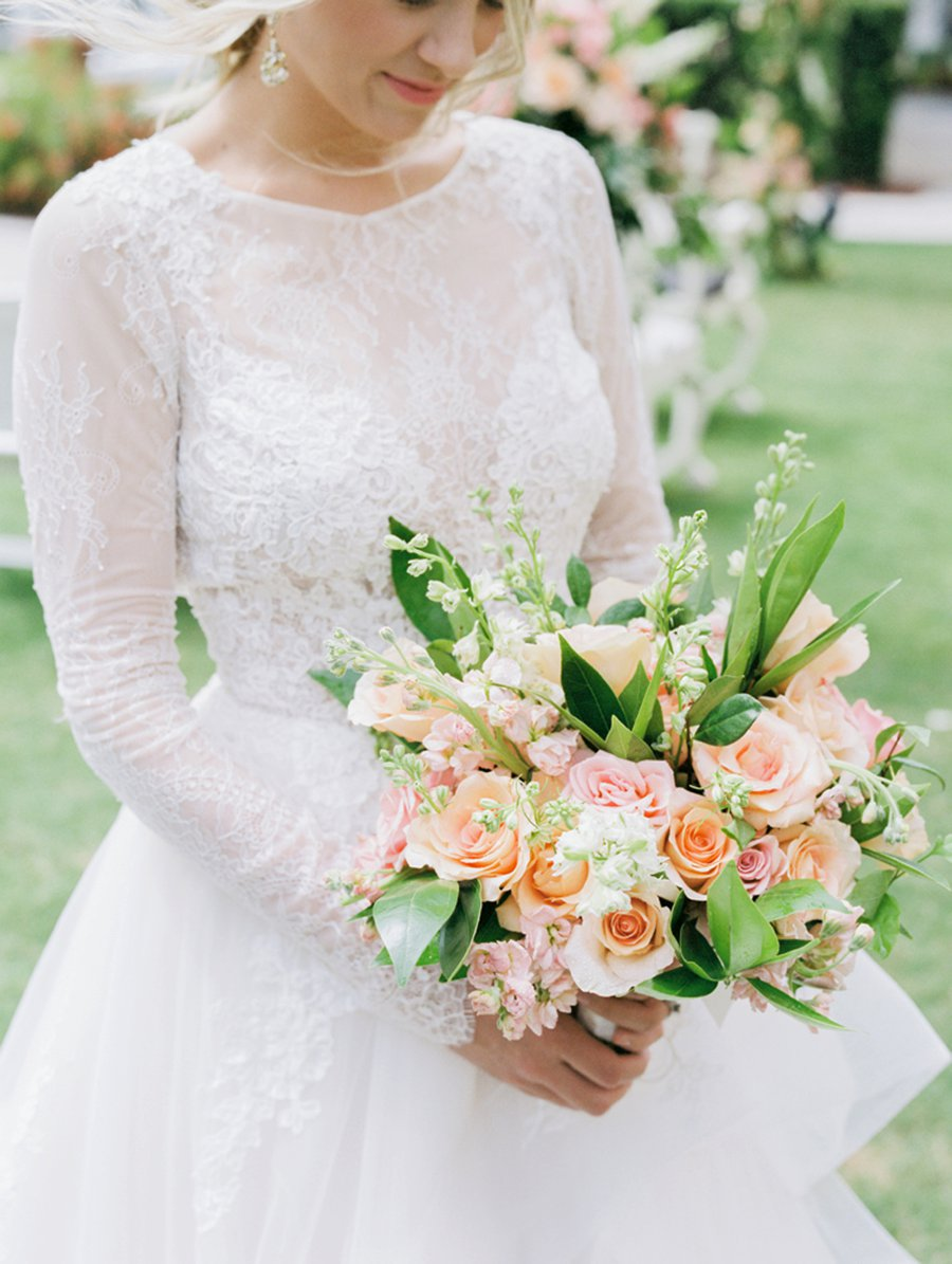 Romantic Peach and Coral Wedding Ideas | Every Last Detail