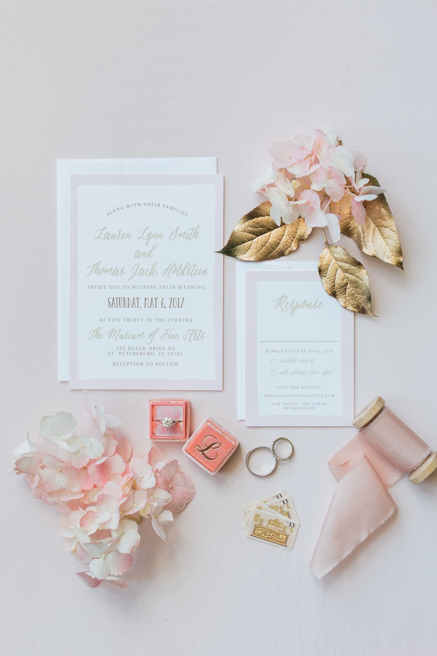 A Classic Pink St. Petersburg Museum Wedding via TheELD.com