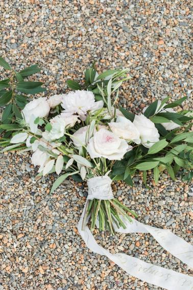 Romantic Grey Italian Inspired Wedding Ideas via TheELD.com