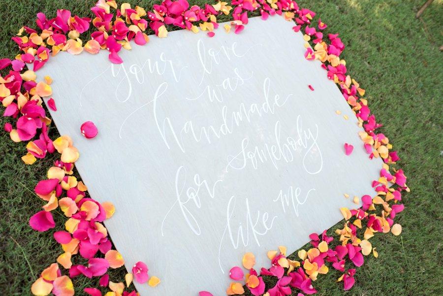 Preppy Pink and Green Wedding Ideas via TheELD.com