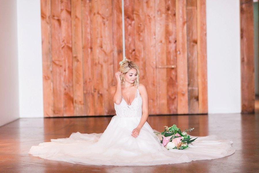 Copper, Blush & Green Modern Romantic Wedding Ideas via TheELD.com