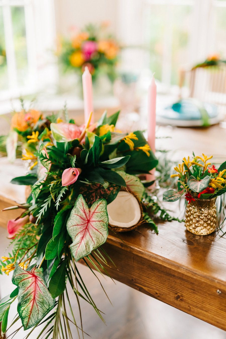 Colorful Amp Elegant Tropical Wedding Ideas Every Last Detail