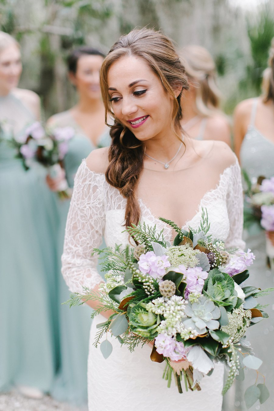 A Rustic Elegant Woodland Inspired Wedding via TheELD.com
