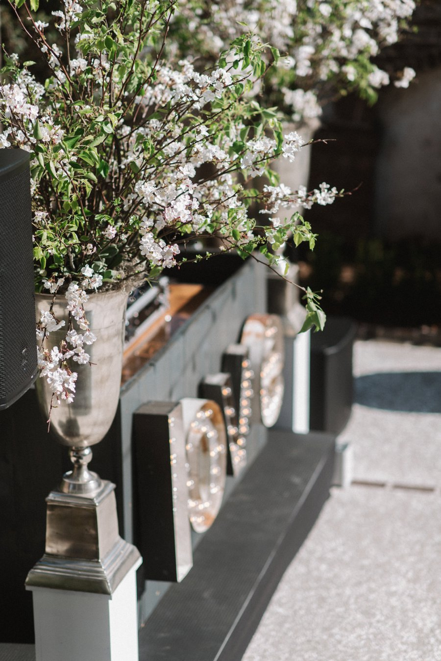 A Classic & Charming Lavender & Grey Charleston Wedding via TheELD.com