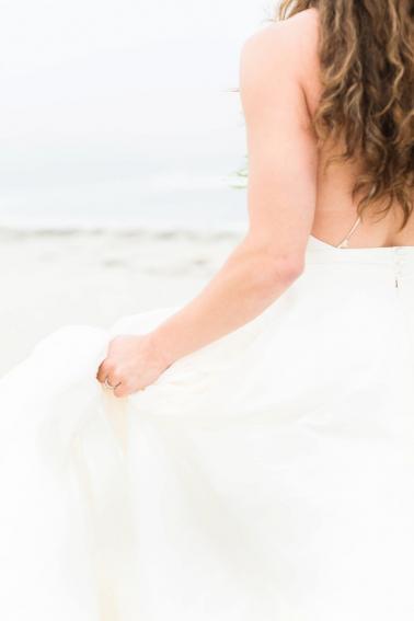 Soft Blue Coastal Maine Wedding Ideas via TheELD.com