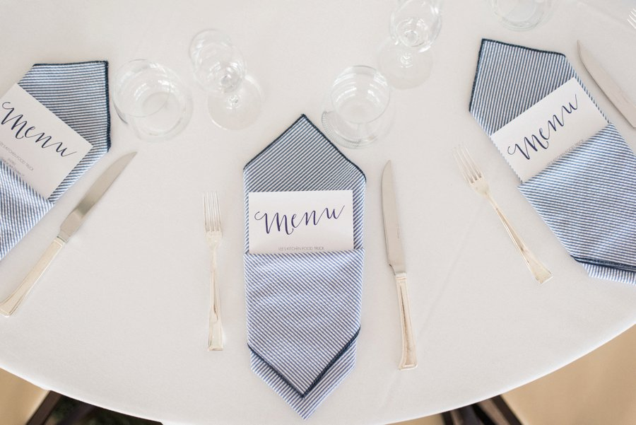 A Casual Pink & Navy North Carolina Wedding Day via TheELD.com
