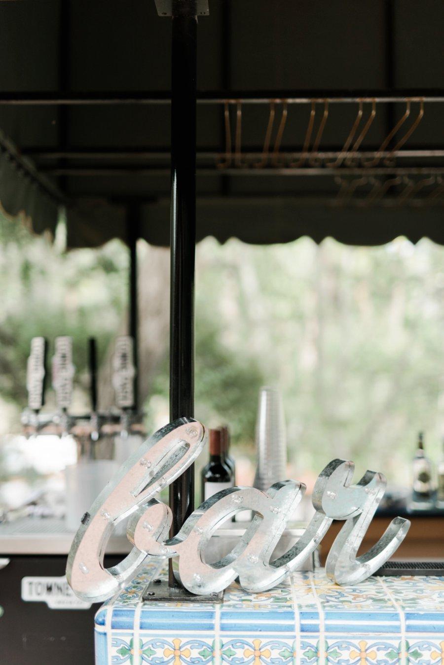 An Elegant Rustic Blush & White California Wedding via TheELD.com