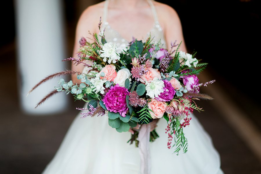 Pink Modern Elegant Wedding Ideas via TheELD.com