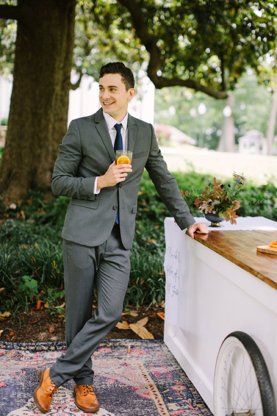 Elegant & Organic Tennessee Wedding Ideas via TheELD.com