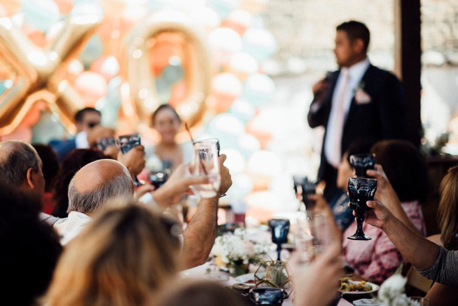 Colorful & Eclectic Surprise Chicago Brunch Wedding via TheELD.com