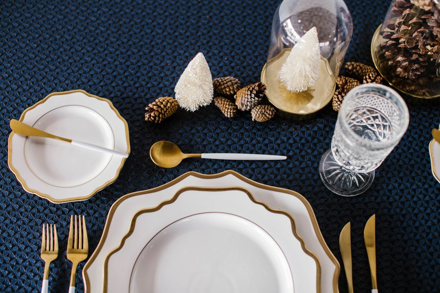 12 Days of Christmas Tabletops: 10 Lords a Leaping via TheELD.com