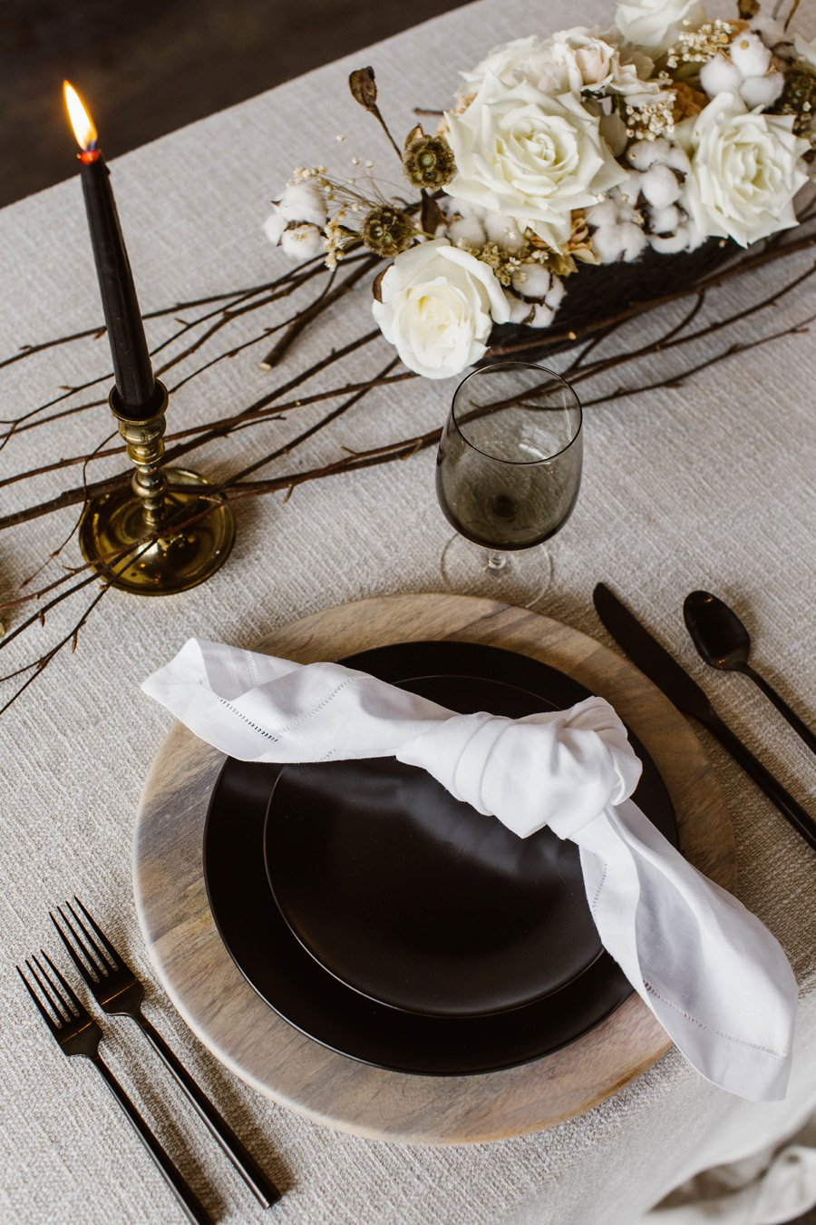 12 Days of Christmas Tabletops: 8 Maids a Milking via TheELD.com
