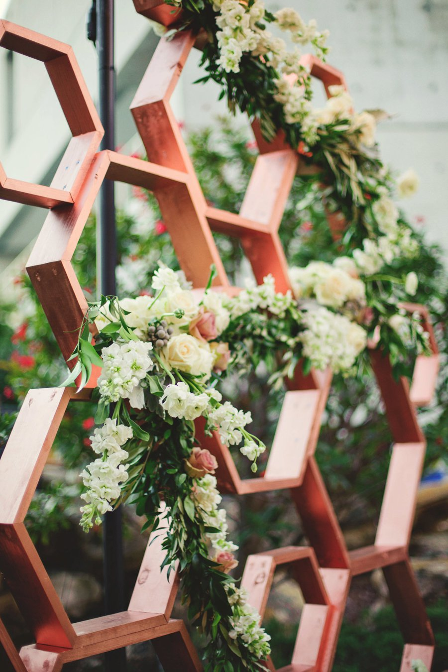 A Modern Romantic Blue & Copper Wedding via TheELD.com