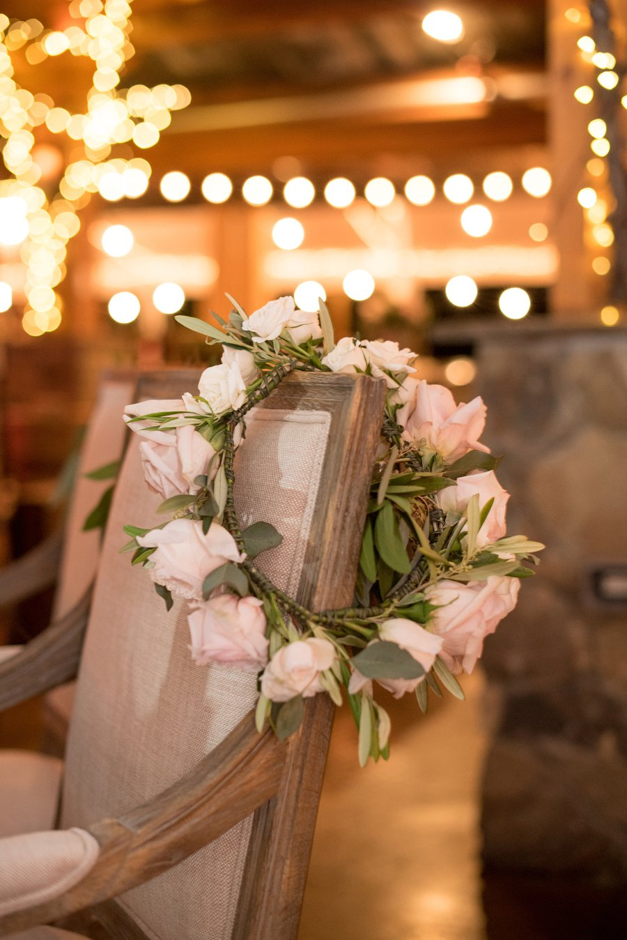 A Romantic Blush & Gold Spring North Carolina Wedding via TheELD.com