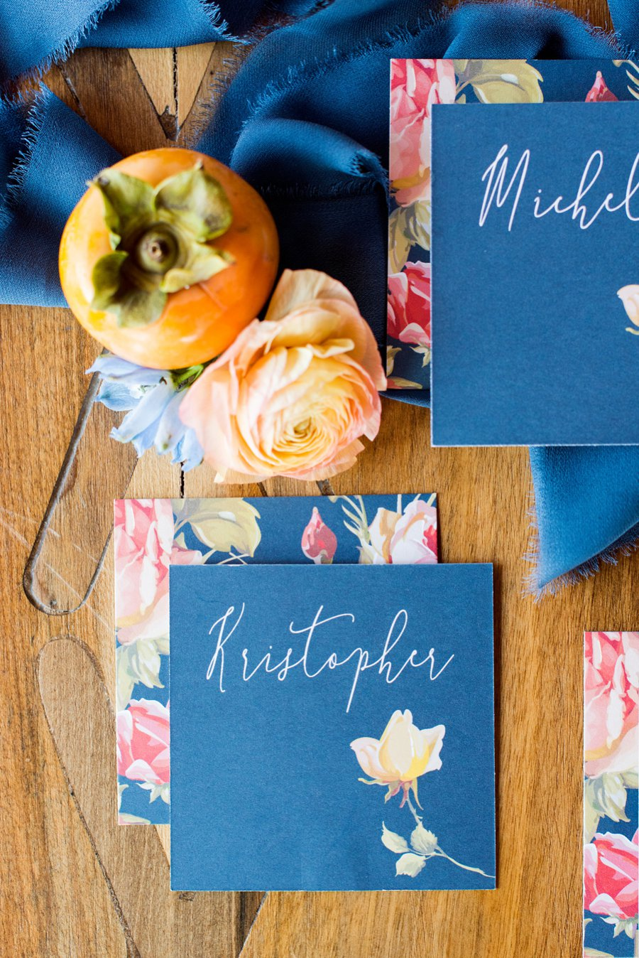 Colorful Blue Yellow Eclectic North Carolina Wedding Ideas Every