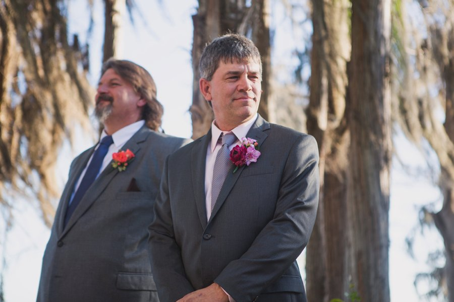 A Colorful Floral Waterfront Central Florida Wedding Day via TheELD.com