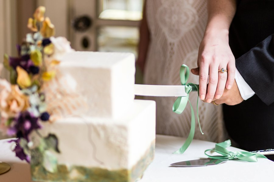 Colorful Brunch Wedding Ideas via TheELD.com