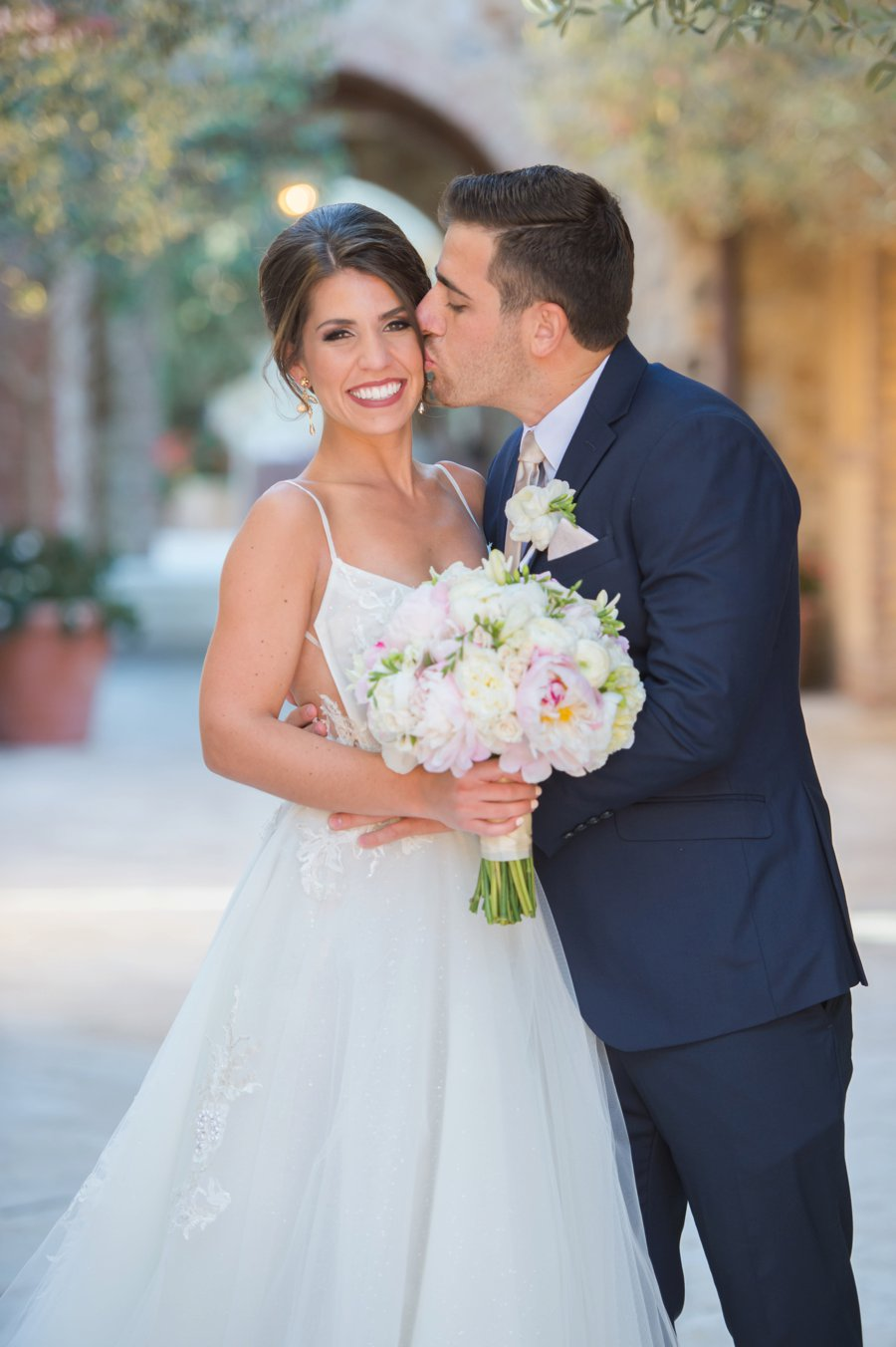 A Spring Jewel Toned Central Florida Wedding via TheELD.com
