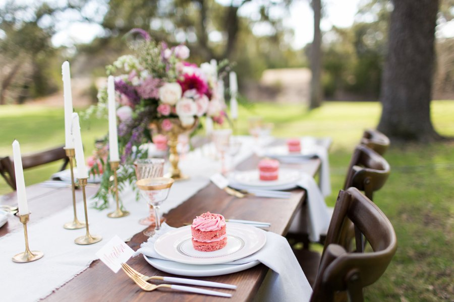 A Fun Pink Galentines Day Brunch via TheELD.com