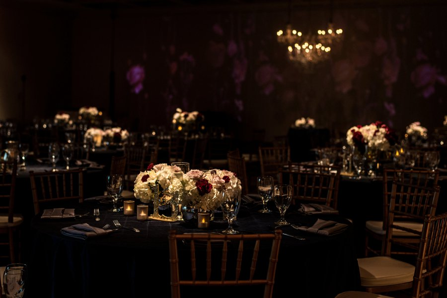 An Elegant, Artful Navy & Red Jacksonville Wedding via TheELD.com