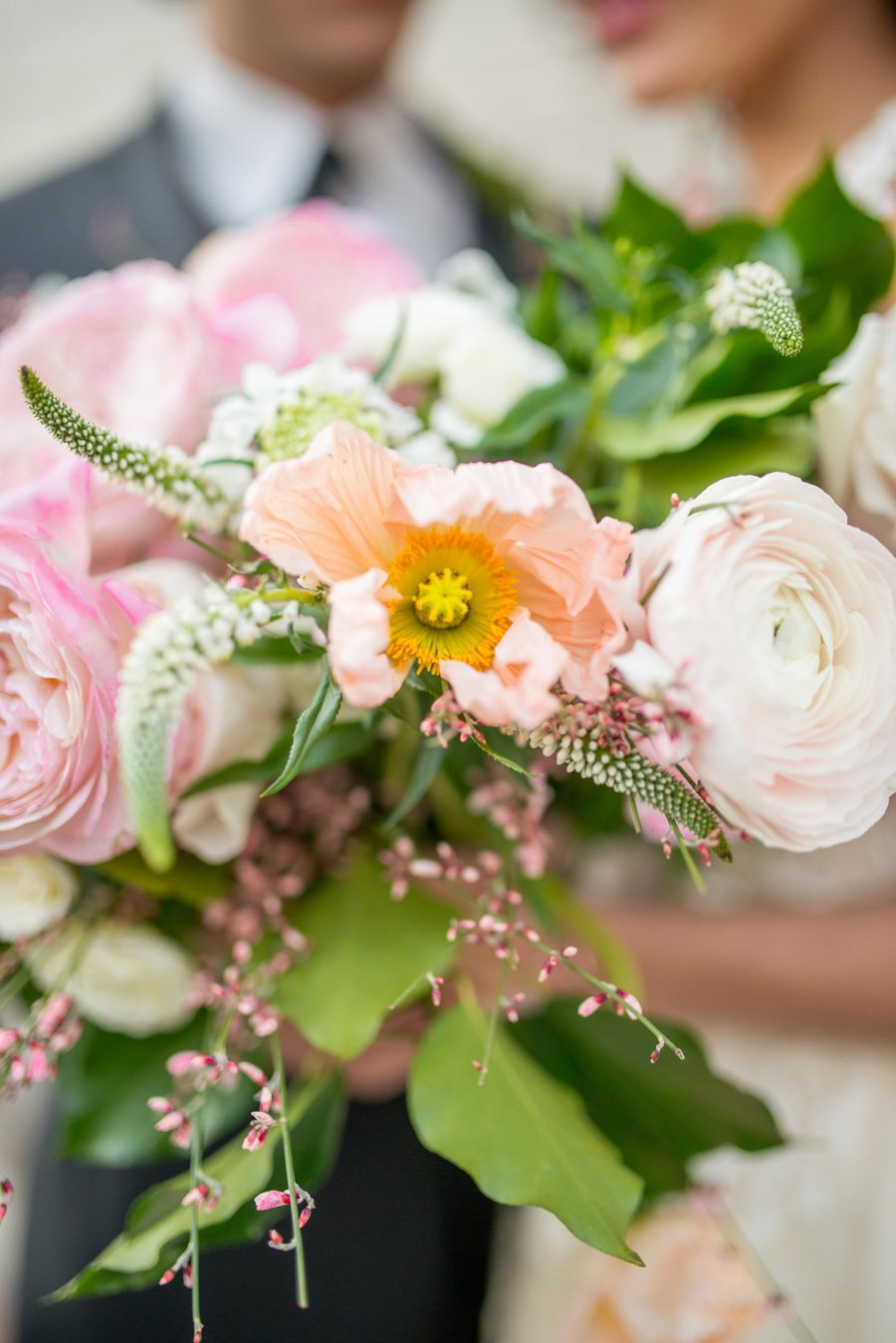Pink Eclectic Valentines Day Inspired Wedding Ideas via TheELD.com